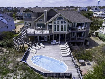 Photo for #451:OCEANFRONT Home in Corolla w/PrivatePool