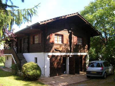 Photo for Charming chalet 8 to 10 people between lake and mountains ST Paul en Chablais