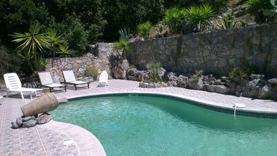 Photo for FRENCH RIVIERA - LARGE STUDIO Indep. in Beautiful PROVENCAL VILLA QUIET with SWIMMING POOL