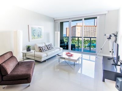 Photo for O. Reserve Premium 9   1 Bed 1 Bath, Steps away from the Beach!