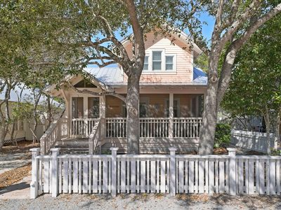 Photo for Renovated, 6 houses to beach in Seaside, 1 block to town