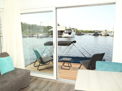 Photo for Private island: enjoy the atmosphere on the water and historic Maastricht