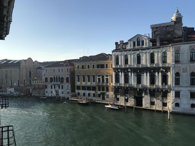view from the living room towards the Accademia  museum
