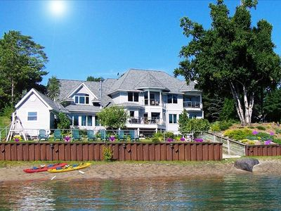 Photo for Port Sanilac MI, 9000 sq.ft. Lake Front Home, Spring Special $100 off per night