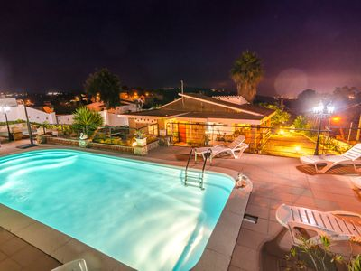 Photo for Club Villamar - Nice house with private pool and small tennis court.
