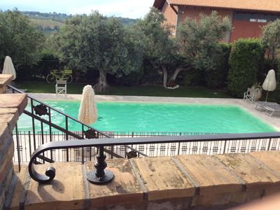 "Photo for ""Casale Giacinta"" ancient farmhouse between sea and mountains with swimming pool"