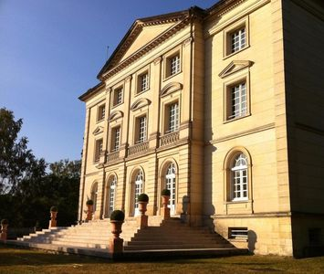 Photo for Lavish castle (900 sq.m), edge of forest, 15 min from Paris. Lounge, 9 bedrooms