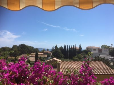 Photo for Rental of a villa top (5 to 6 people maximum) sea view in Carqueiranne