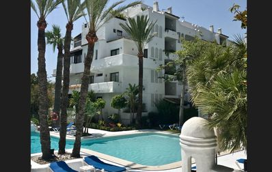 Photo for New Apartment La Isla Puerto Banus with community pool and sea view