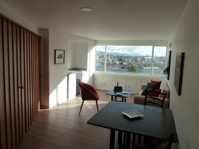 Photo for Cozy and Sunny Top Floor with open Views