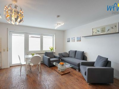 Photo for Cozy apartment with a separate bedroom and balcony on Borkum!