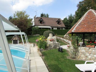 Photo for Charming house with pool in Touraine