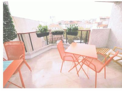 Photo for Apartment F2 recently renovated and furnished with terrace Cannes Centre