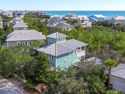 Photo for Morrow Cottage - Gulf View, Old Florida Beach, 30A, Heated Community Pool, Wifi!
