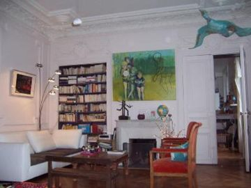 A trip in the past and modern Paris : charming parisian and authentic style 6 rooms appartment
