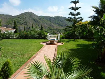Photo for Large Garden, Stunning Mountain/Sea Views, Huge Pool, Totally Private, Sleep 6