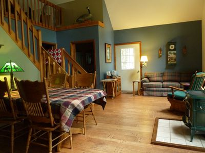 Photo for Private Adirondack Mtn Chalet in Pine Forest