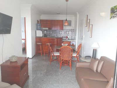 Photo for Flat Saint Martin, furnished with 02 rooms, Meireles