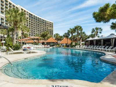 Photo for NEW LISTING! San Luis 4 Star Resort Condo w/ ocean views, shared pool, & hot tub