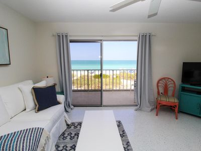 Photo for 180 DEGREE GULF VIEWS from the patio of this one bedroom suite at Bali Hai