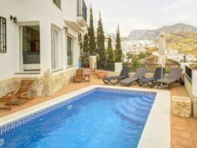 Photo for AP283 BEAUTIFUL VILLA NEAR THE CENTRE OF FRIGILIANA