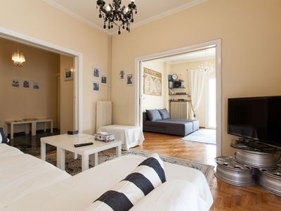 Photo for Amazing 2 bdr apt in the center of Athens - Acropolis view