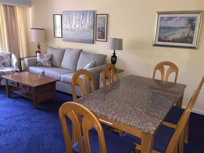 Photo for 2BR/2 Bath Condo, Resort, Walk to Beach, Shopping, Entertainment, Free WiFi