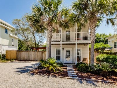Photo for Sandy Toes - Our little Beach Cottage steps away from 30A and the Gulf.