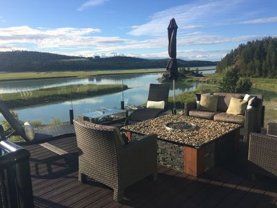 Photo for This Is 5 Star...Lake Koocanusa Style! -Waterfront+Dock+MountainView (new home)