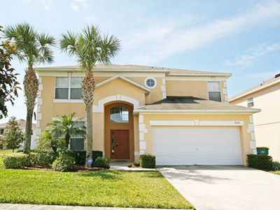 Photo for Spacious and Beautiful, South Facing Pool and Spa, only 3 miles from Disney