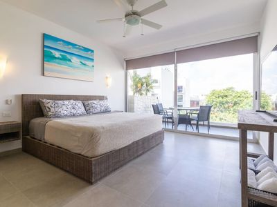 Photo for Exclusive condo / Safe area / 5 min from the beach