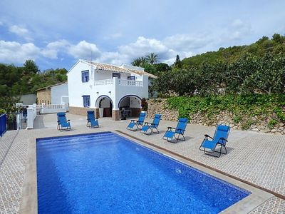 Photo for A867 - Fantastic rural house with private pool