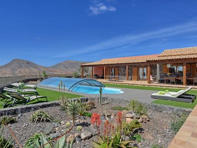 Photo for 4 bedroom Villa, sleeps 8 in Tetir with Pool and WiFi