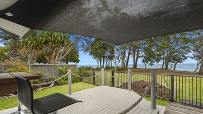 Photo for TIDAL DREAMS - ABSOLUTE BEACHFRONT COTTAGE