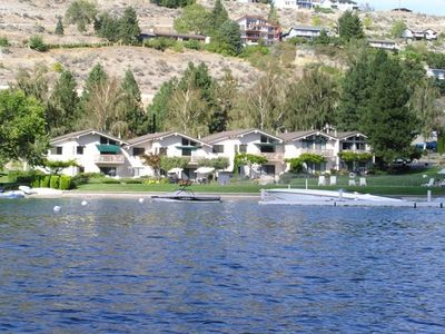 Photo for Lakefront 2B/2B Condo in Spader Bay Close to Downtown Chelan