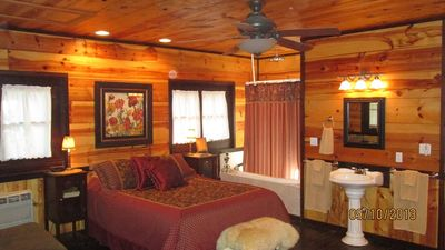 Photo for Private, Romantic Cabin Very Close to Branson Landing and the 76 Strip!