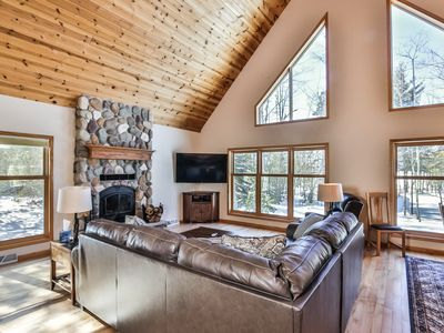 Photo for NEW! Private Home on Eagle River Chain of Lakes!
