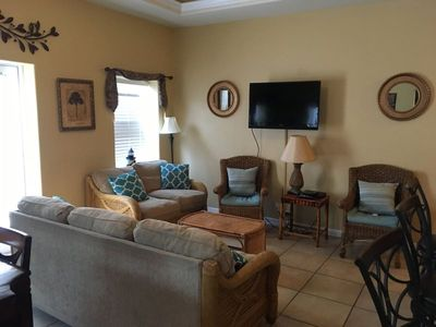 Photo for Superb vacation home nestled in the center of SPI's attractions. Sleeps 8, 3 bedrooms, 2 bathrooms.