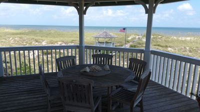 Views of East Beach from the cupola