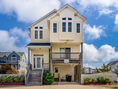 Photo for Ocean's Nine West | 1087 ft from the beach | Private Pool, Hot Tub | Kill Devil Hills