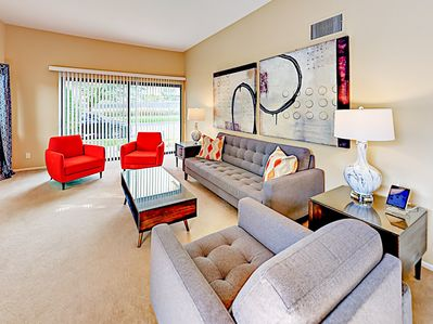 Living Room  - This condo is professionally managed by TurnKey  Vacation Rentals.