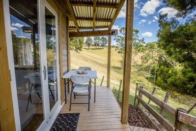 Enjoy your complementary breakfast and your own meals on your own private deck