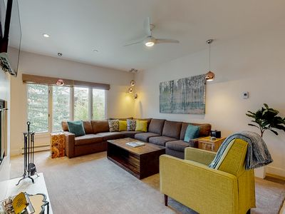Photo for 2nd floor charming condo near ski lifts w/ shared pool, golf nearby