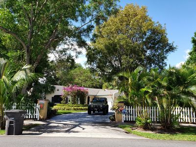 """Photo for """"CASA DEL LARGO"""", ON WATER LAKE FRONT VACATION HOUSE NEAR WEST PALM DOWN TOWN"""