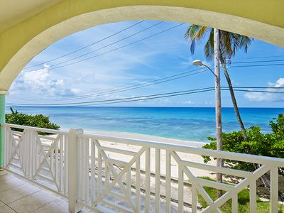 Beach front living at its best