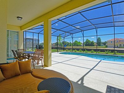 Photo for Large Private Pool*10 Mins Disney*Luxury Clubhouse and Cabanas*Free Grill*Wifi