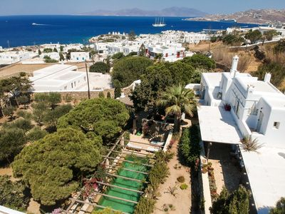 Photo for Mykonos Town , Luxurious Villa with pool, Parking