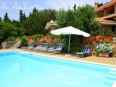 Photo for D'Azur villa with pool, enchantment between Silver Coast and Maremma