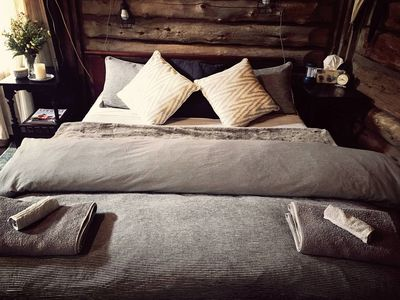 Photo for Leura Log Cabin - Relaxed and peaceful getaway