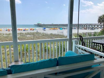 Photo for Luxury Ocean-Front Condo on Folly Beach!  Great Beach Access and Stunning Views!